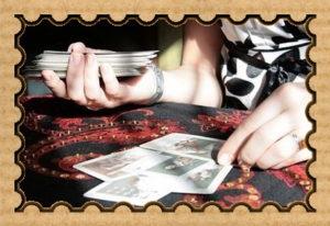 Гадалка с картами