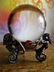 Хрустальный шар гадалки
