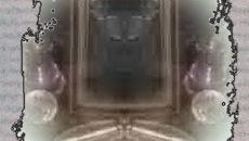 Старое зеркало и атрибуты гадания.Гадание на зеркале на встречу.