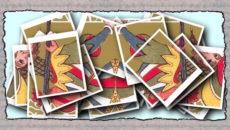 коллаж карты ленорман