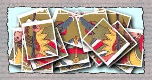 Коллаж из карт марии ленорман