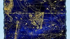 знаки зодиака на карте неба